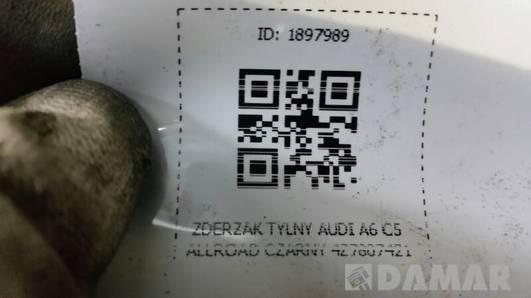 ZDERZAK TYLNY AUDI A6 C5 ALLROAD CZARNY 4Z7807421