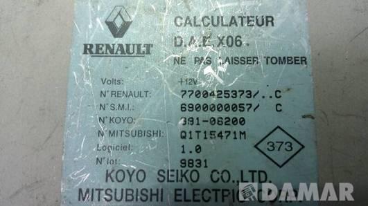 KOMPUTER RENAULT TWINGO 7700425373 DAE X06