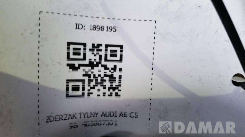 ZDERZAK TYLNY AUDI A6 C5 98r 4B5807301 SEDAN