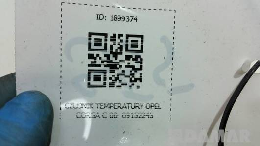 09152245 CZUJNIK TEMPERATURY OPEL CORSA C 00r