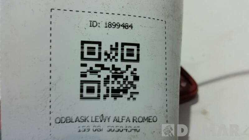 50504340 ODBLASK LEWY ALFA ROMEO 159 08r
