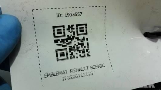 8200115115 EMBLEMAT RENAULT SCENIC II
