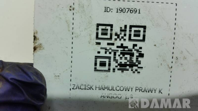 ZACISK HAMULCOWY PRAWY KANGOO 1.9