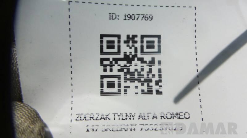 ZDERZAK TYLNY ALFA ROMEO 147 SREBRNY 735257629