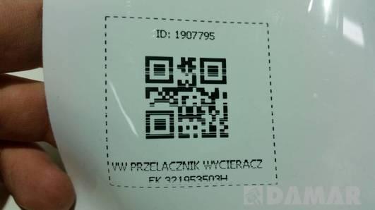 321953503H PRZELACZNIK WYCIERACZEK VW