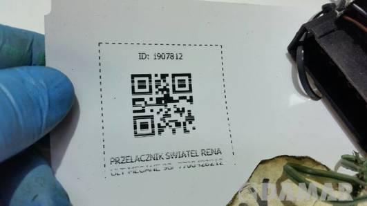 7700428212 PRZELACZNIK SWIATEL RENAULT MEGANE 98r