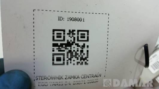 89871-20030 STEROWNIK ZAMKA CENTRALNEGO YARIS 04r