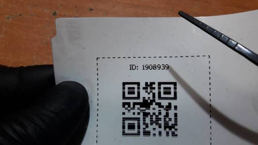 735257632 ZASLEPKA ZDERZAKA TYL ALFA ROMEO 147