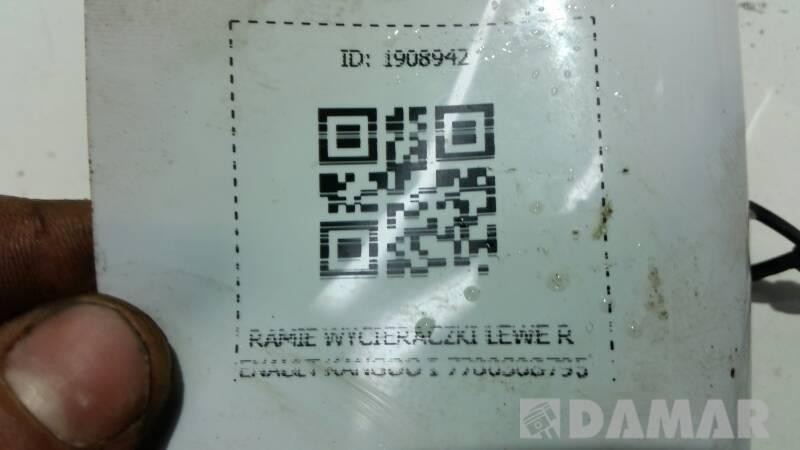 7700308795 RAMIE WYCIERACZKI LEWE RENAULT KANGOO I