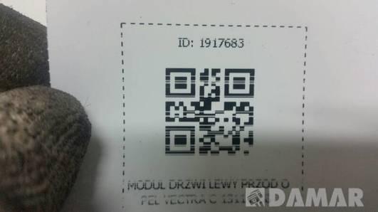 13111458 MODUL DRZWI LEWY PRZOD OPEL VECTRA C