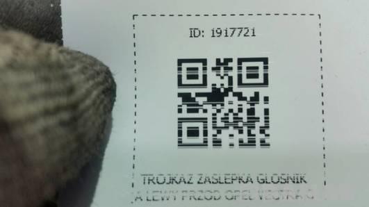 9179574 ZASLEPKA GLOSNIKA LEWY PRZOD OPEL VECTRA C