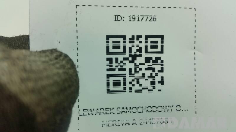 LEWAREK SAMOCHODOWY OPEL MERIVA A 24437084