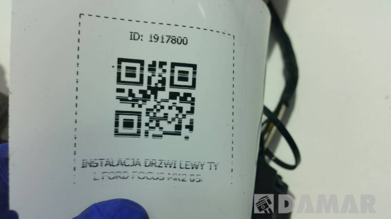 INSTALACJA DRZWI LEWY TYL FORD FOCUS MK2 05r