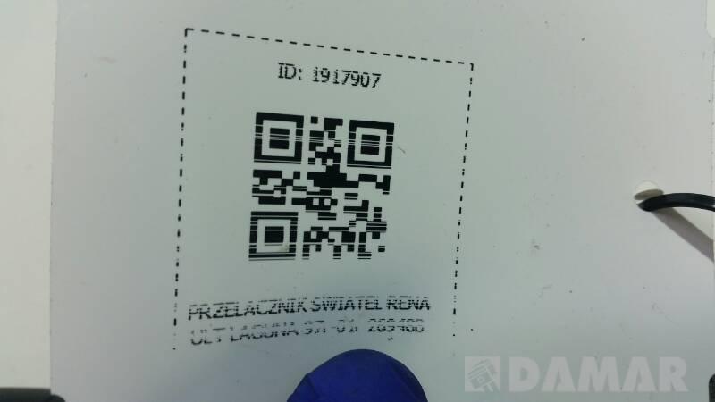 PRZELACZNIK SWIATEL RENAULT LAGUNA 97r-01r 26948B