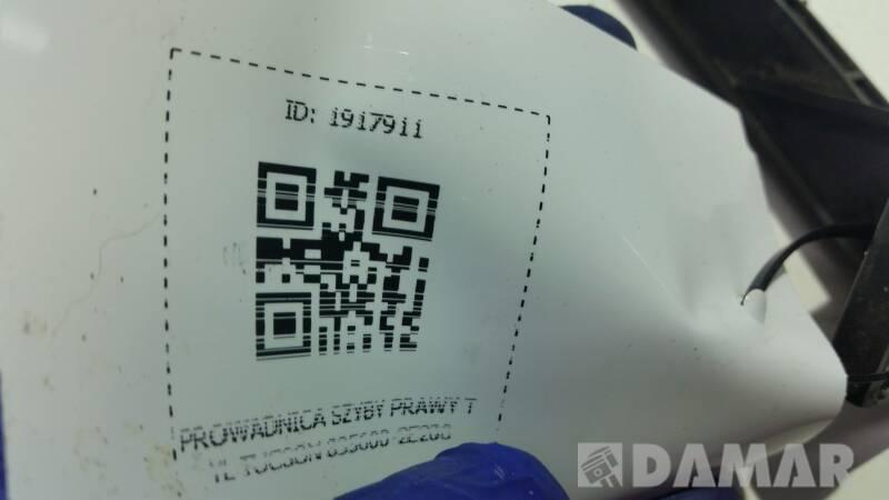 835600-2E200 PROWADNICA SZYBY PRAWY TYL