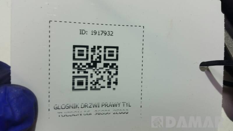 96330-2E000 GLOSNIK DRZWI PRAWY TYL TUCSON 06r