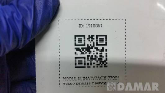 7700427697  MODUL KLIMATYZACJI RENAULT MEGANE 1.4