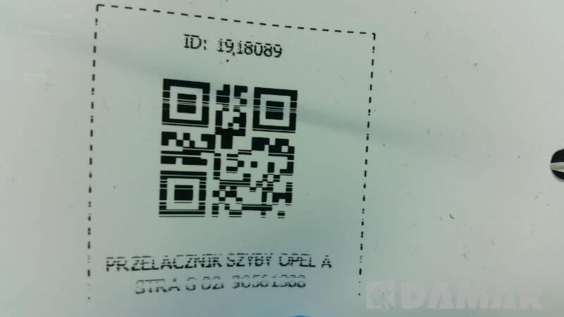90561388 PRZELACZNIK SZYBY OPEL ASTRA G 02R