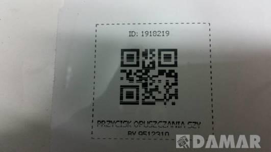 9512310 PRZYCISK OPUSZCZANIA SZYBY SAAB 900