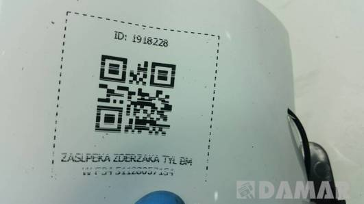 51128057154 ZASLPEKA ZDERZAKA TYL BMW F34