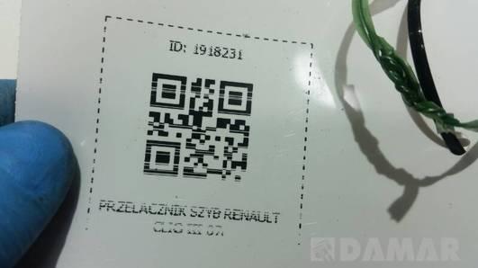 PRZELACZNIK SZYB RENAULT CLIO III 07r