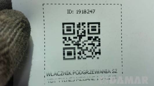 WLACZNIK PODGRZEWANIA SZYBY TYLNEJ MEGANE I 841243