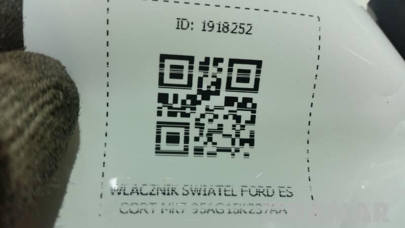 WLACZNIK SWIATEL FORD ESCORT MK7 95AG15K237AA