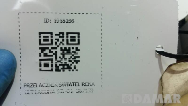 36717B PRZELACZNIK SWIATEL RENAULT LAGUNA 97r-01r