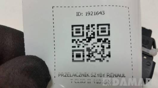410151H PRZELACZNIK SZYBY RENAULT CLIO II
