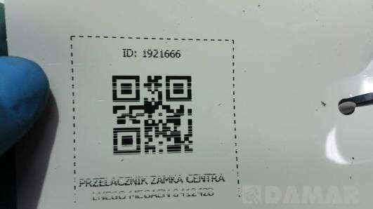 841242B PRZELACZNIK ZAMKA CENTRALNEGO MEGANE