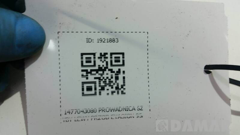 1477043080 PROWADNICA SZYBY LEWY PRZOD EVASION 95r