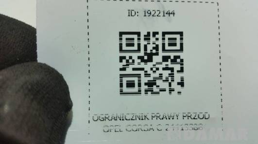 24413388 OGRANICZNIK PRAWY PRZOD OPEL CORSA C