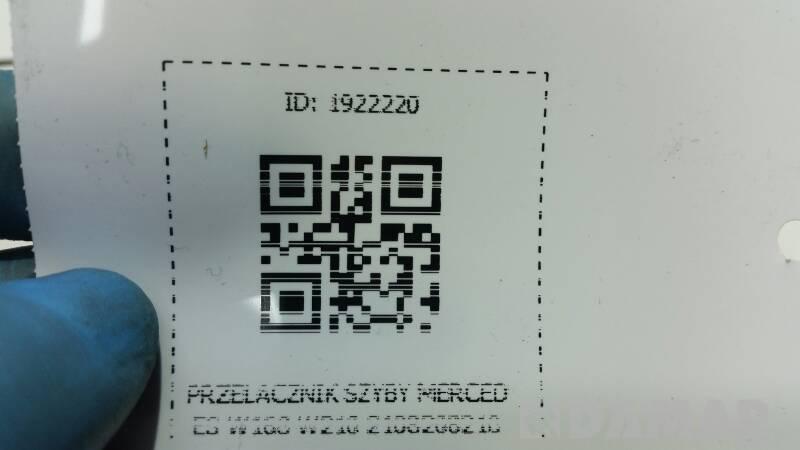 2108208210 PRZELACZNIK SZYBY MERCEDES W168 W210