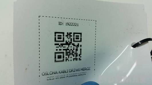 A1688210297 OSLONA KABLI DRZWI MERCEDES W168
