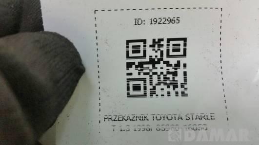 85980-16050 PRZEKAZNIK TOYOTA STARLET 1.3 1998r