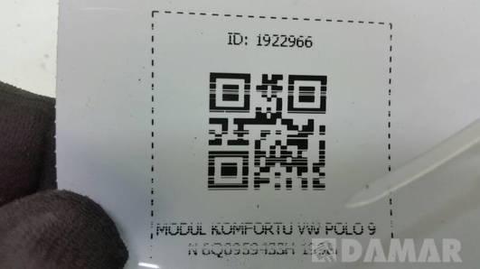 6Q0959433H  MODUL KOMFORTU VW POLO 9N 1998r
