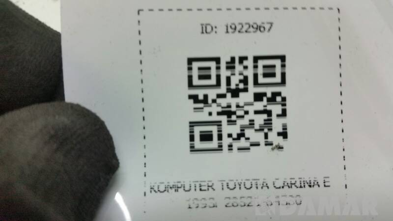 28521-64380 KOMPUTER TOYOTA CARINA E 1993R