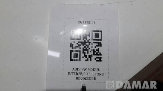 8D0862335B MODUL INTERFEJS TELEFONU  AUDI VW