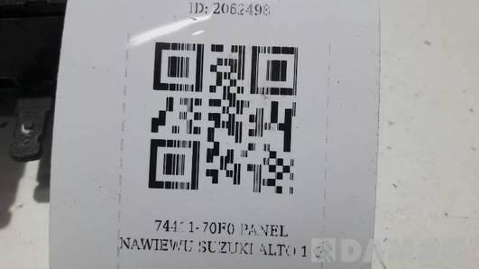 74411-70F0 PANEL NAWIEWU SUZUKI ALTO 1.0