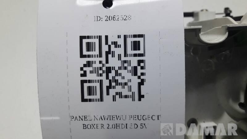 PANEL NAWIEWU PEUGEOT BOXER 2.0HDI 5D 5V