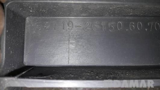52119-26150 ZDERZAK PRZEDNI TOYOTA HIACE IV SZARY