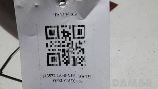 143572 LAMPA PRAWA TYL OPEL OMEGA B C FL KOMBI