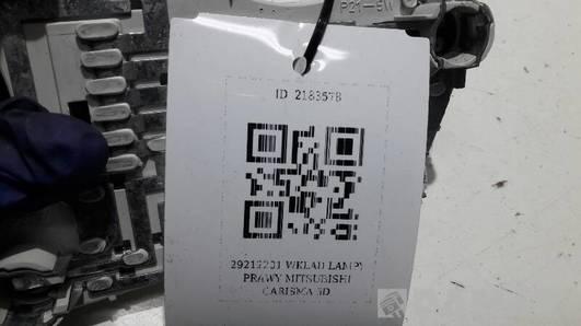 29212201 WKLAD LAMPY PRAWY MITSUBISHI CARISMA 5D
