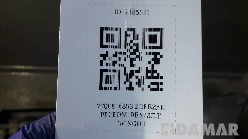 7700816853 ZDERZAK PRZEDNI RENAULT TWINGO I
