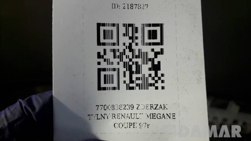 7700838239 ZDERZAK TYLNY RENAULT MEGANE COUPE 97r