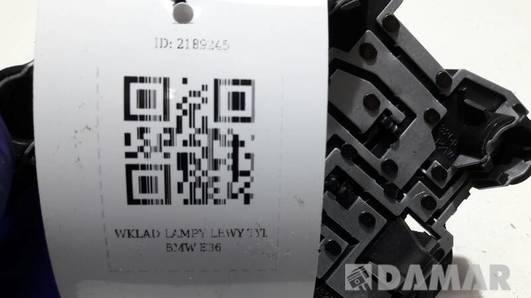 WKLAD LAMPY LEWY TYL BMW E36