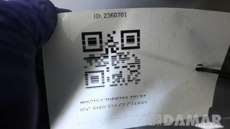 8057153 ZDERZAK TYLNY PDC BMW F34 GT BLACK SAPHIRE
