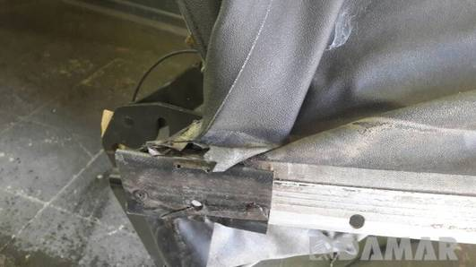 DACH SKLADANY ELEKTRYCZNY VW GOLF IV CABRIO