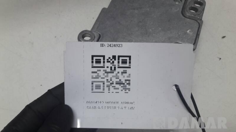 05014212 MODUL AIRBAG SAAB 9-5 I YS3E 2.0 T 16V
