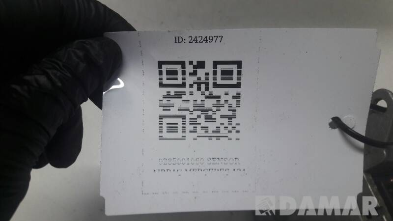 0285001060 SENSOR AIRBAG MERCEDES 124